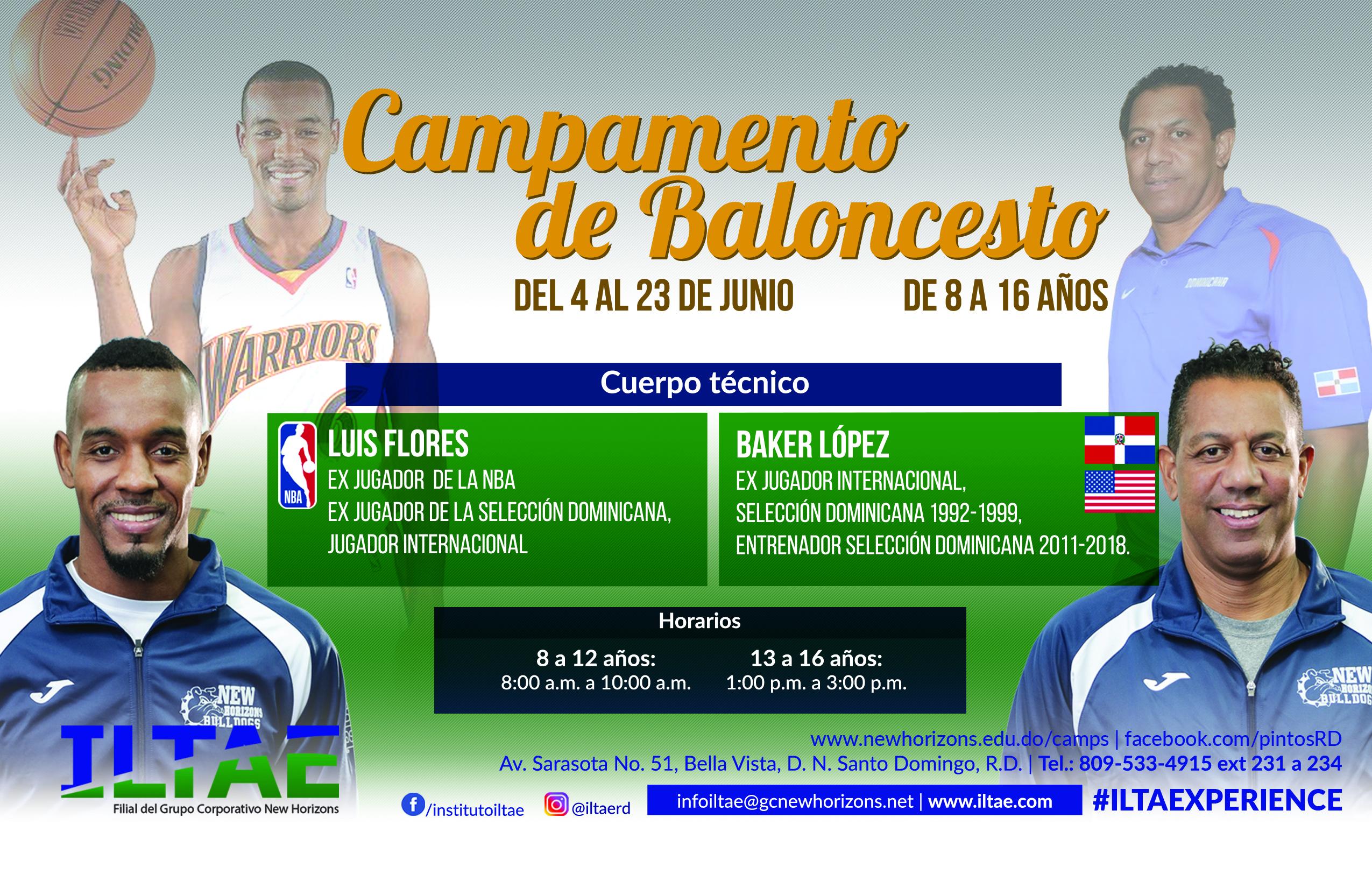 informacion campamento de baloncesto