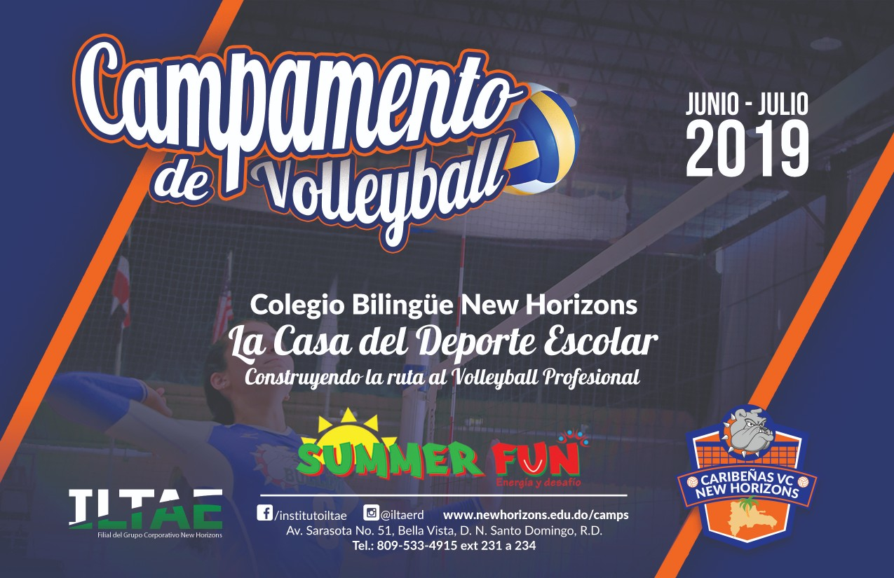 Campamento volleyball 2019